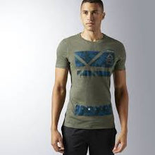 Load image into Gallery viewer, RCF PERFORMANCE BLEND GRAPHIC TEE IN GREEN