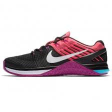 METCON DSX FLYKNIT - BLACK/WHITE RACER PINK (FEMALE)