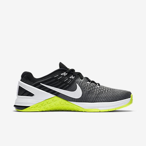 METCON DSX FLYKNIT - DARK GREY/WHITE-VOLTE-BLACK (WOMEN'S)