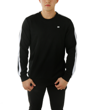 Load image into Gallery viewer, UNISEX FASHION SWEATSHIRT - TONE BLACK