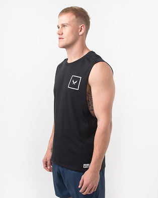 SHIELD TANK IN BLACK
