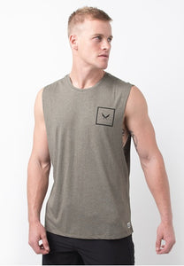 SHIELD TANK IN OLIVE