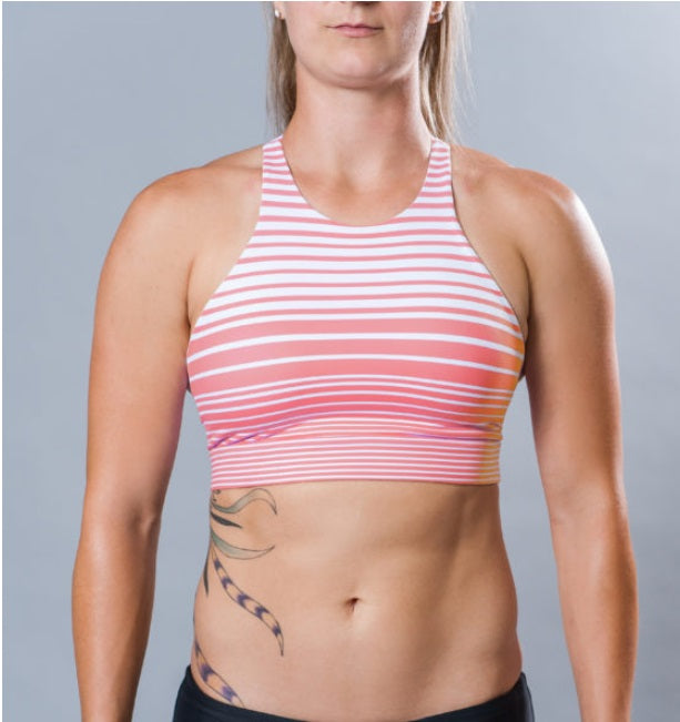 SKY HIGH SPORTS BRA - RED