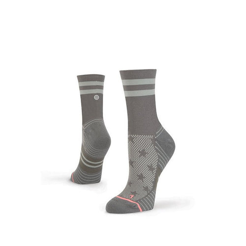 WOMEN'S FUSION RUN - STARK CREW - GREY