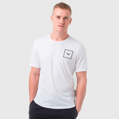 SHIELD TEE IN WHITE