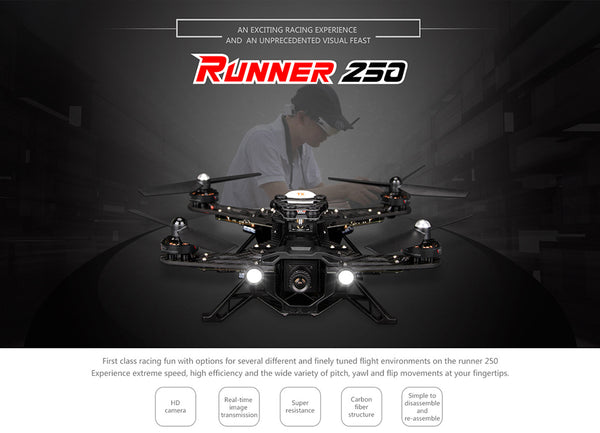 Runner 250 Basic 3 with OSD BNF Version