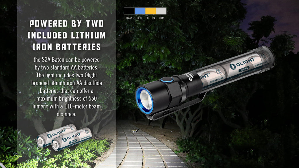 Olight S2A Baton - Action Gear Australia