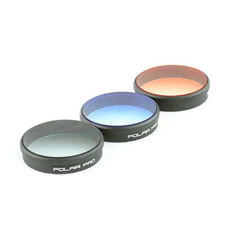 DJI PHANTOM 4 / PHANTOM 3 GRADUATED FILTER 3-PACK
