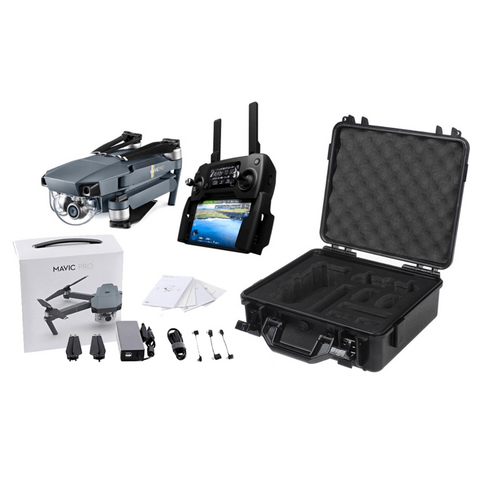 DJI MAVIC PRO WITH CONTROLLER & HARD CASE