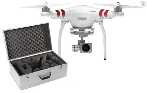 DJI Phantom 3 - STANDARD Quadcopter Drone with Case