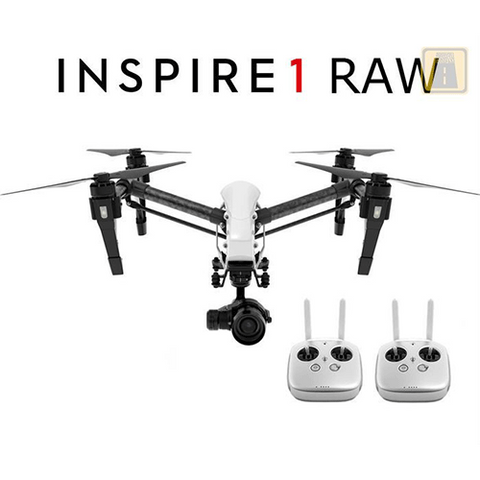 DJI Inspire 1 RAW with Dual Remote and X5R Camera