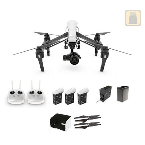 DJI Inspire 1 PRO with Dual Remotes Total Fly Kit