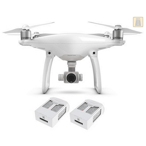 DJI Phantom 4 with Two Batteries