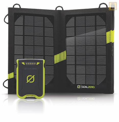 GoalZero Venture 30 Solar Recharging Kit with Nomad 7