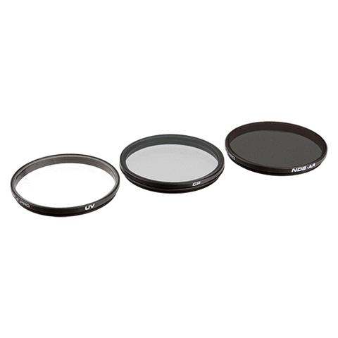 DJI ZENMUSE X5 FILTER 3-PACK - UV, CP & ND8 (3 PACK)