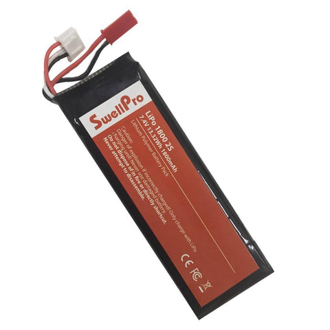 Radio controller battery (2S 1800mAh Lipo battery) - Splashdrone 3 Only