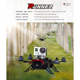 Walkera - Runner 250 Basic 3 with OSD - Ultimate FPV Package