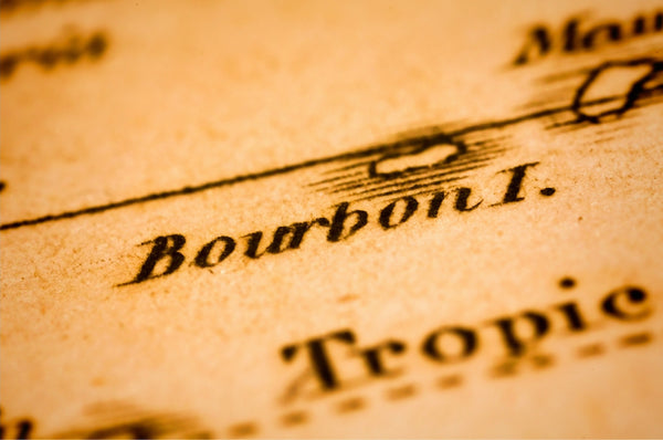 old document with word 'Bourbon I.'