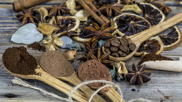 coffee and spices