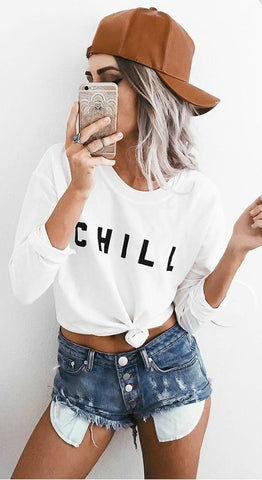 CHILL SWEATSHIRT FOR HER