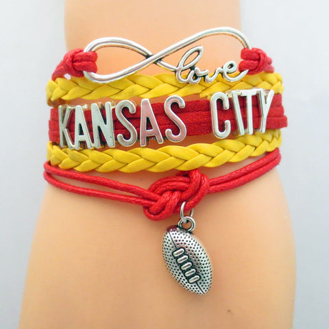 Kansas City Fan Bracelet