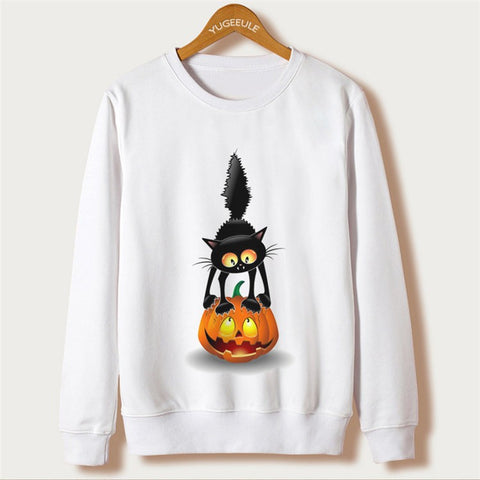 CAT SCARE SWEATSHIRT FOR HER