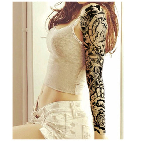 HER SLEEVE TEMPORARY TATTOOS