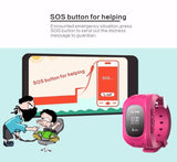 GPS SOS TRACKER WATCH