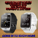 SMART WATCH-HD CAMERA, SIM, BLUETOOTH-ANDROID/IPHONE