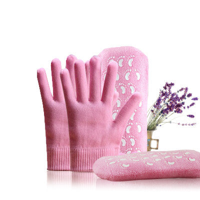 gel spa socks and gloves moisturizing exfoliating hand and foot care
