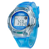 WATERRESISTANT SILICONE SPORT WATCH