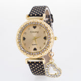 POLKA RHINESTONE WATCH