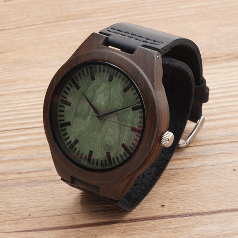 BOBOBIRD BAMBOO WOODEN WATCH