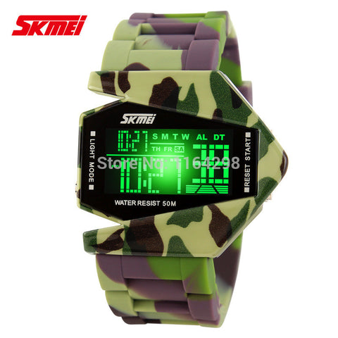 AIRPLANE CAMMO WATCH