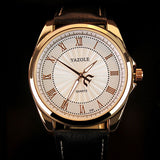 YAZOLE Quartz Watch Men Top Brand Luxury Famous 2016 Wristwatch Male Clock Wrist Watch Business Quartz-watch Relogio Masculino