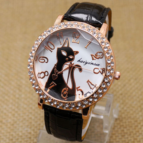 COOL CAT LEATHER WATCH