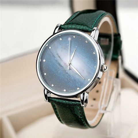 STAR & SKY RHINESTONE WATCH