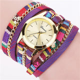 JEWEL TONE WRAP WATCH