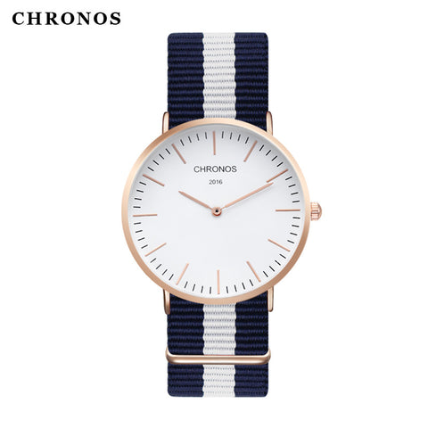 CHRONOS NYLON QUARTZ WATCH