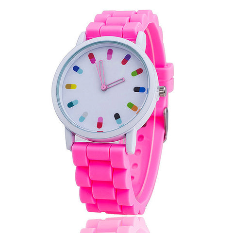 COLORFUL CAPSULES WATCH