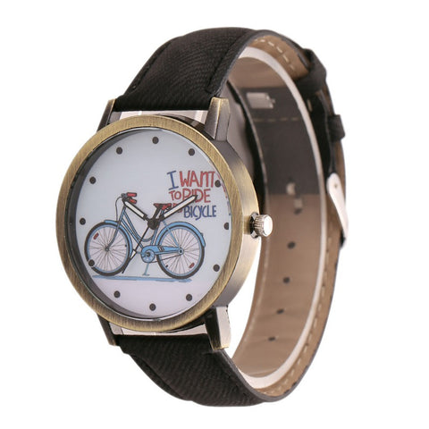 ROUND BIKE BOX WATCH