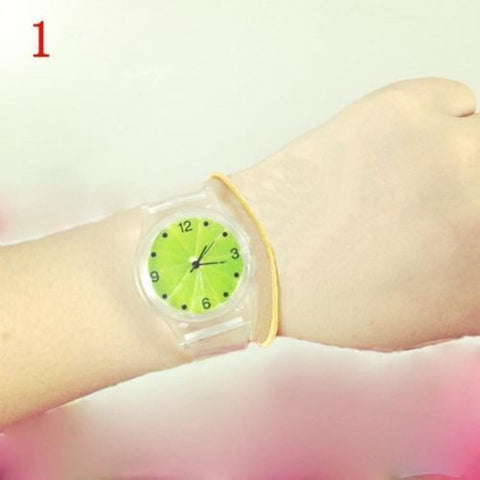 JELLY SILICONE TRANSPARENT WATCH