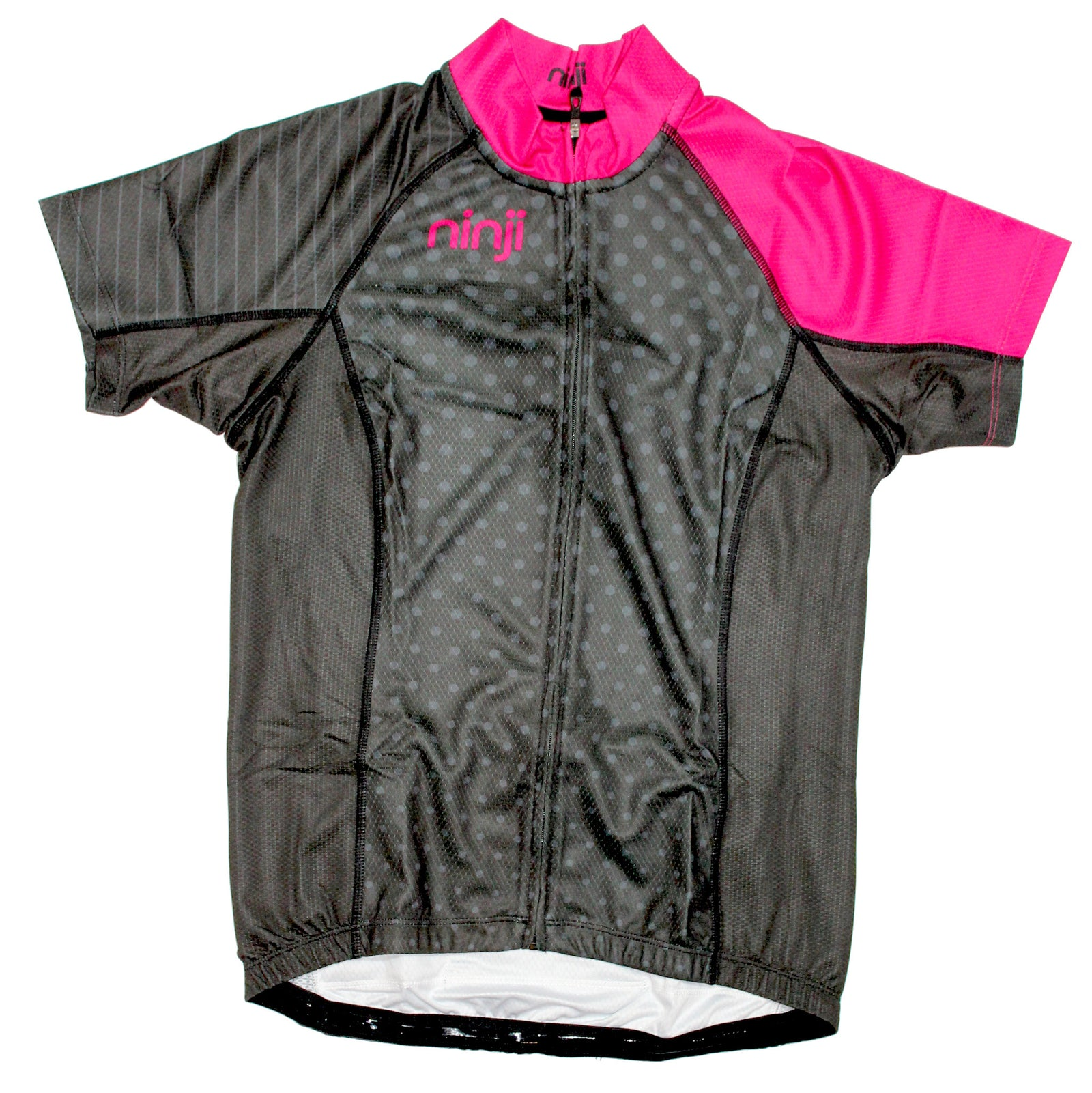 WOMENS SS JERSEY - BLACK DOTS