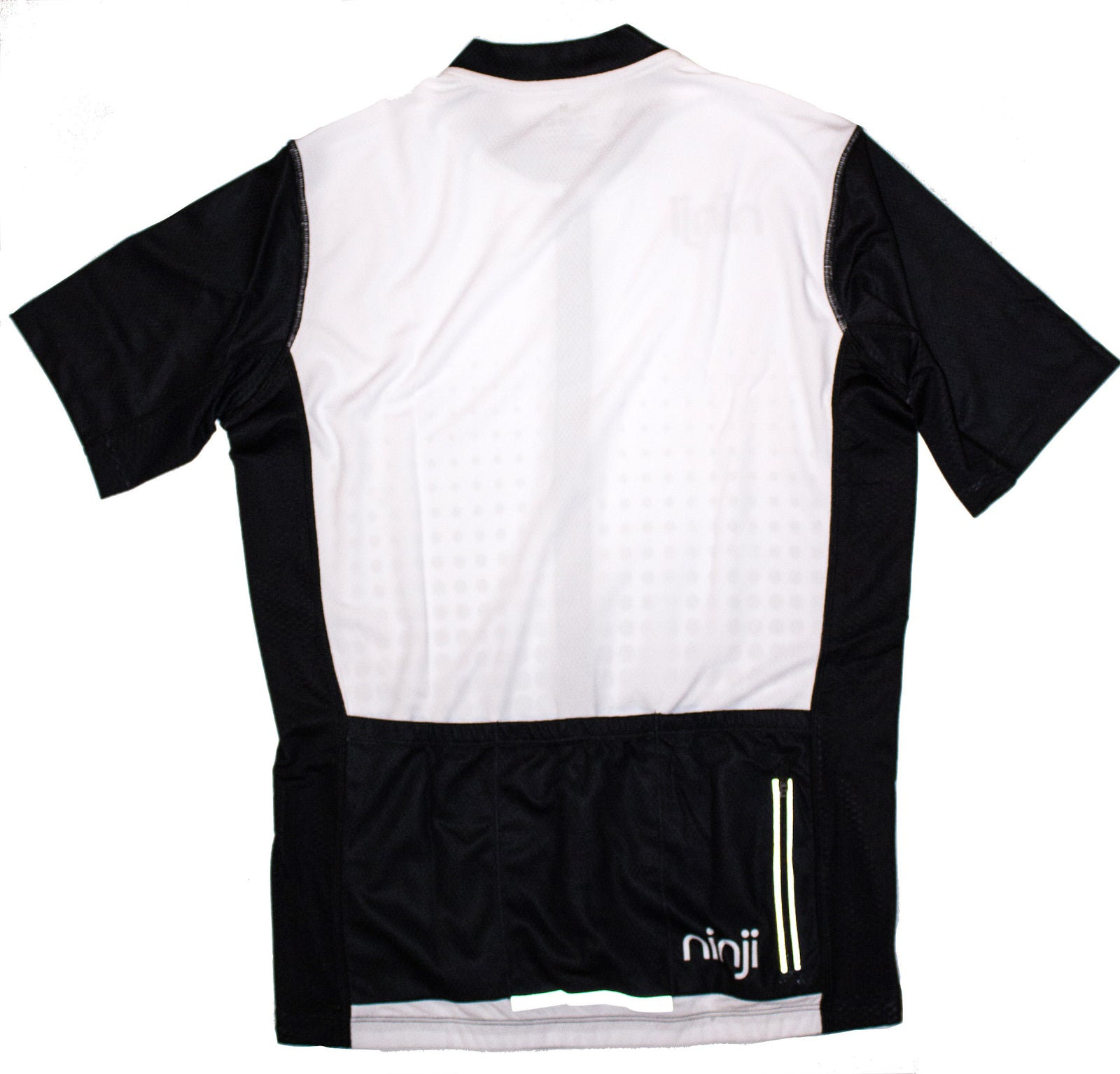 MENS SS JERSEY - WHITE BLACK FADE