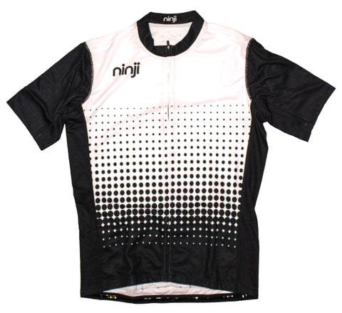 MENS SS JERSEY - LARGE BLACK LOGO
