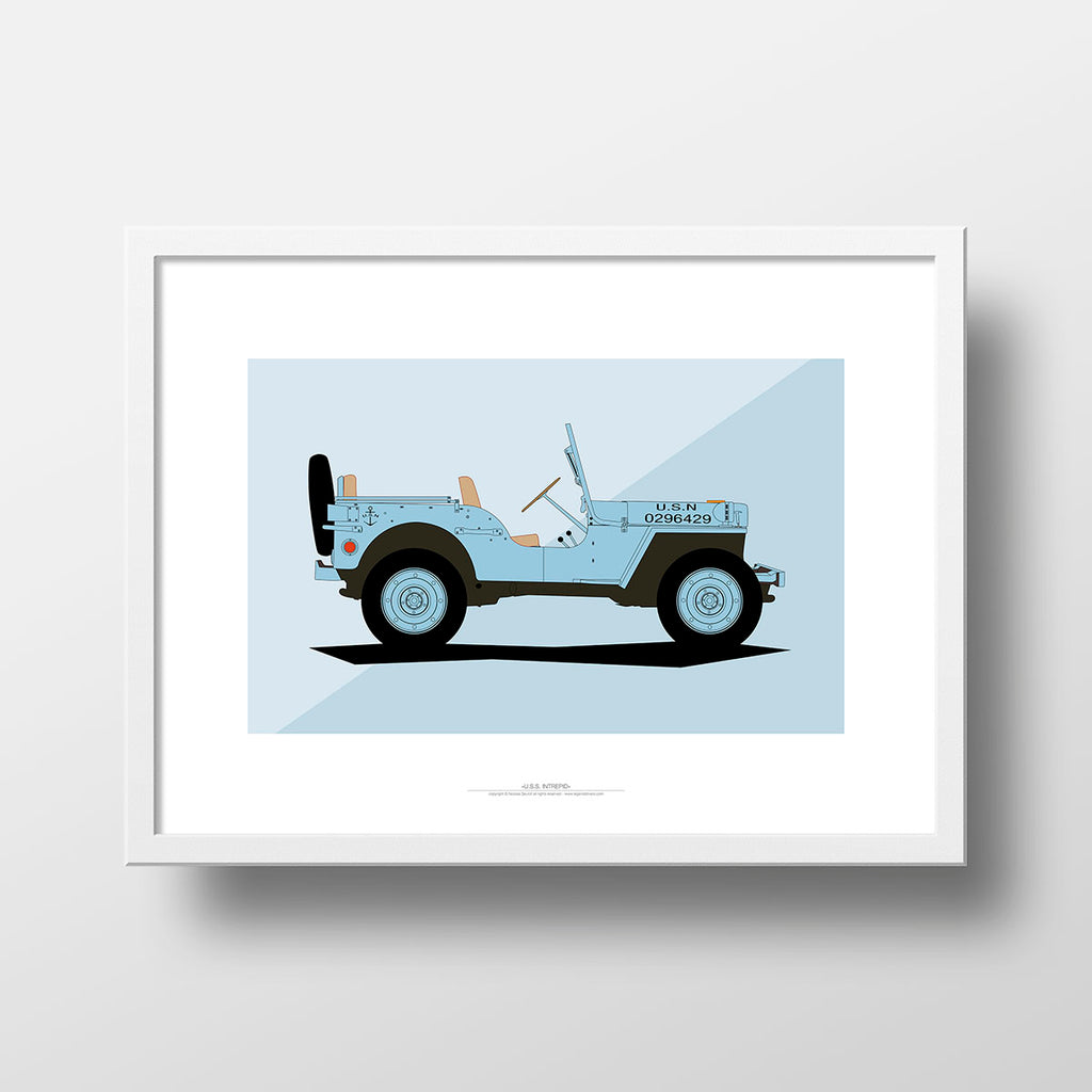 In the Navy - Jeep Hotchkiss
