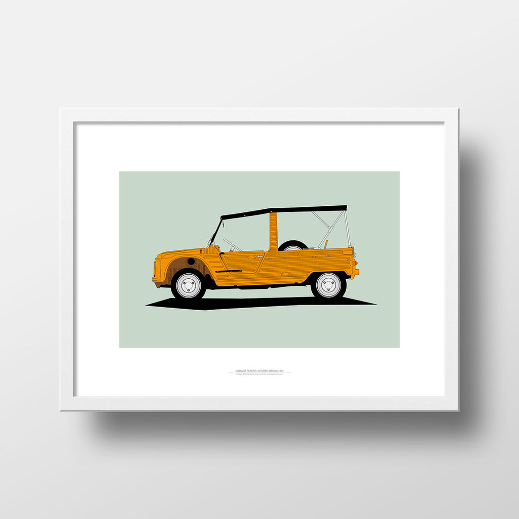 Orange Plastic - Citroën Mehari