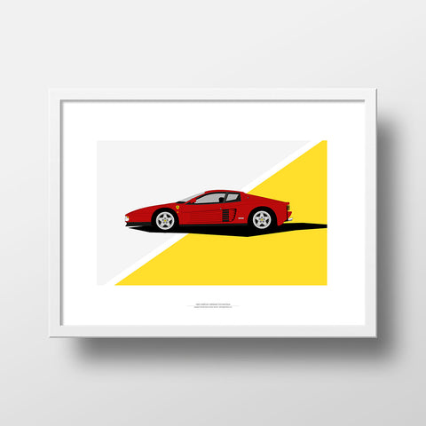 Red Arrow - Ferrari Testarossa