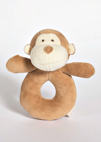 MiYim Ring Rattle Monkey