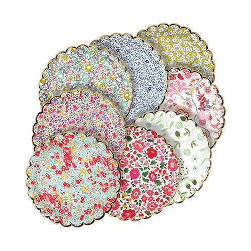Liberty Print Paper Plates Small